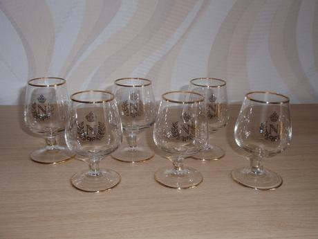 Koňakové poháre - 6ks,