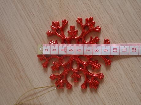 Vianočné vločky - 2ks,