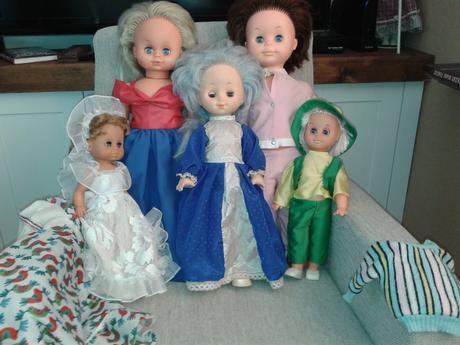 retro bábiky,