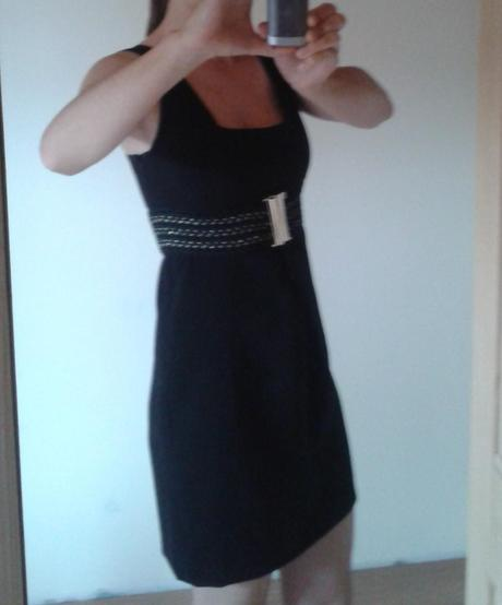 šaty - krátke čierne S/M, S