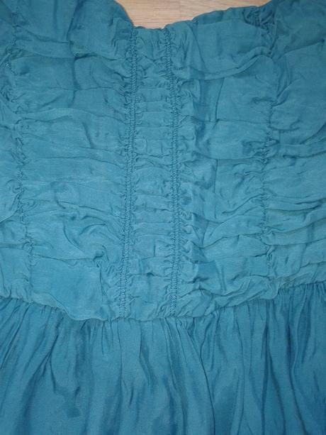 tyrkysové šaty, 36