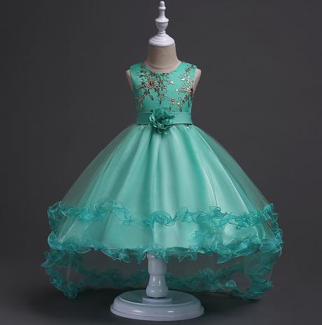 Detské spoločenské šaty, 128