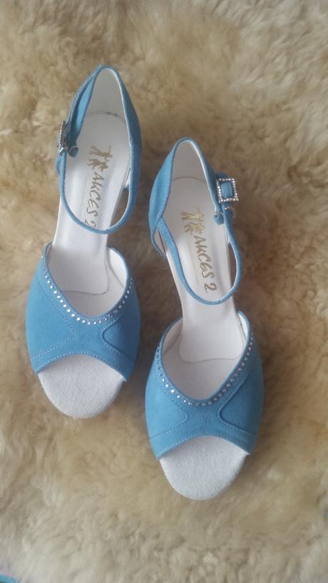 Profesionální taneční/společenské boty Swarovski , 38