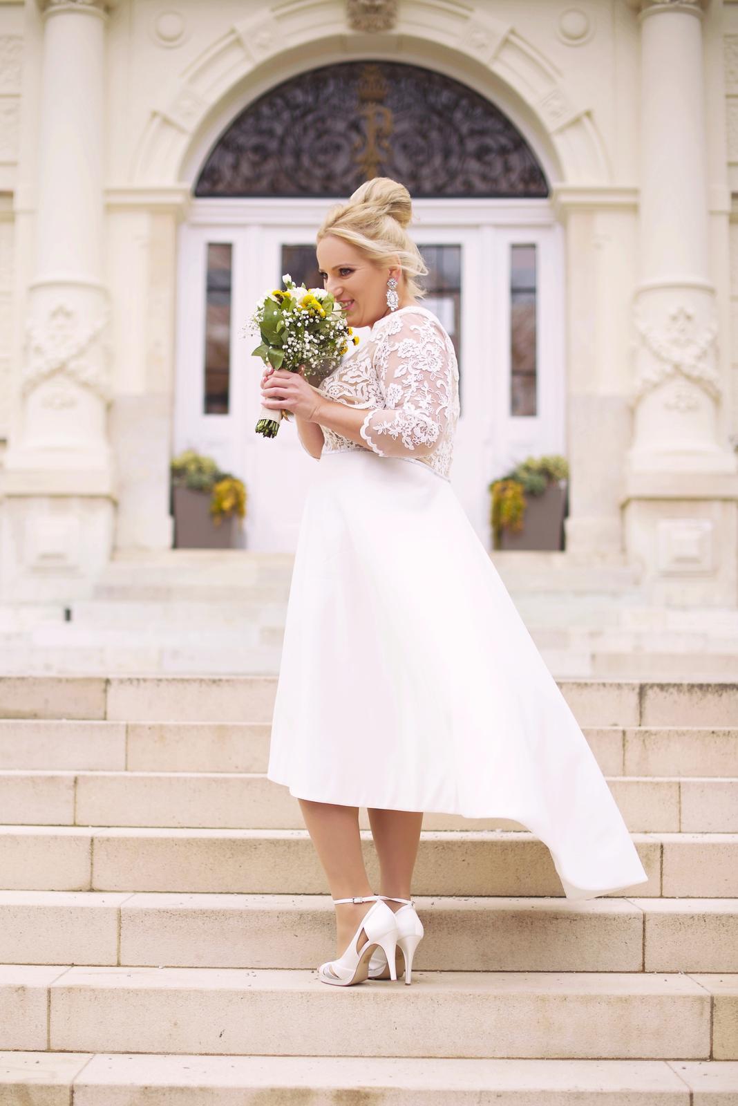 Svadobné šaty veľ. 42 44 45ab229a42a