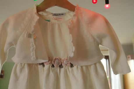 Balonové šaty pro malou družičku , 80