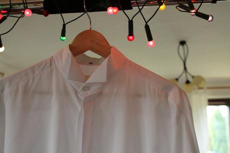 Bílá svatební (sváteční) košile, 42