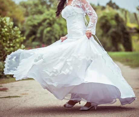 Svadobné šaty Maggie Sottero vhodne na upravu , 38