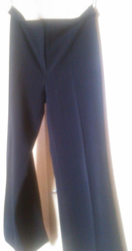 Kalhoty černé , 42