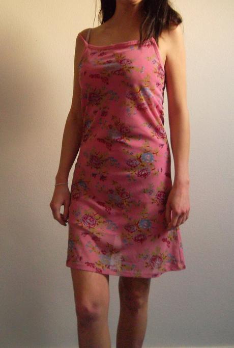Letní šaty růžové, 36