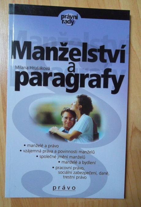 Manželství a paragrafy,