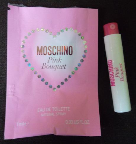 Vzorek Moschino Pink Bouquet,