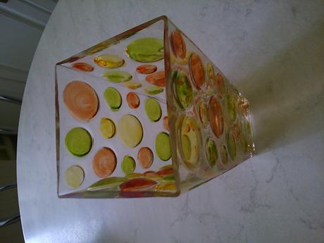 Váza sklo,