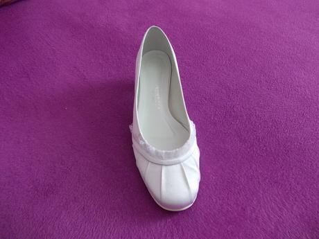 obuv pro nevěstu-saténová, 40