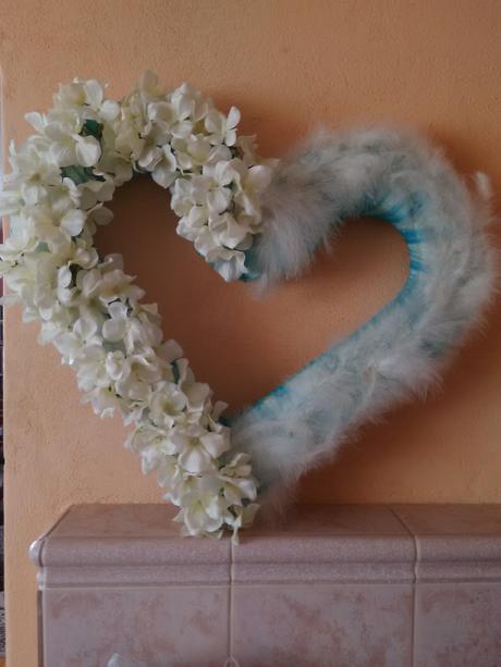 Komplet svadobná výzdoba tyrkys-biela,
