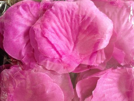 Plátky květů 200 kusů - fialové,
