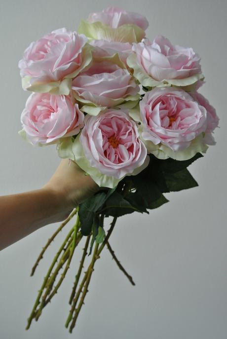 Anglická růže umělá,