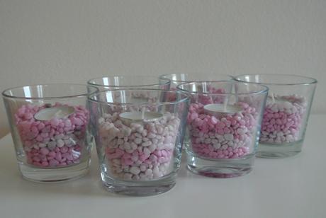 Svícínky na stůl,