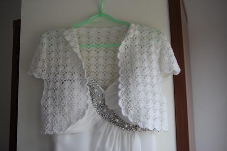 Antické, těhotenské svatební šaty pro malé nevěsty, 38