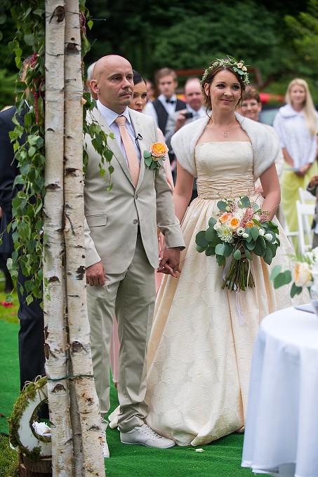 Naozaj nádherné svadobné šaty značky Lanesta , 36