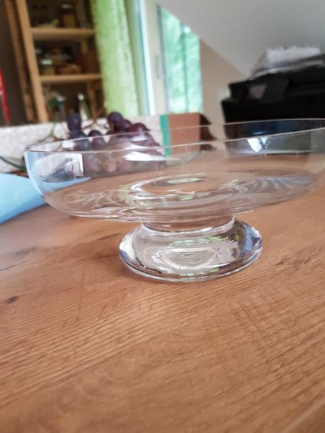 Sklenené misky /vázy 6kusov,