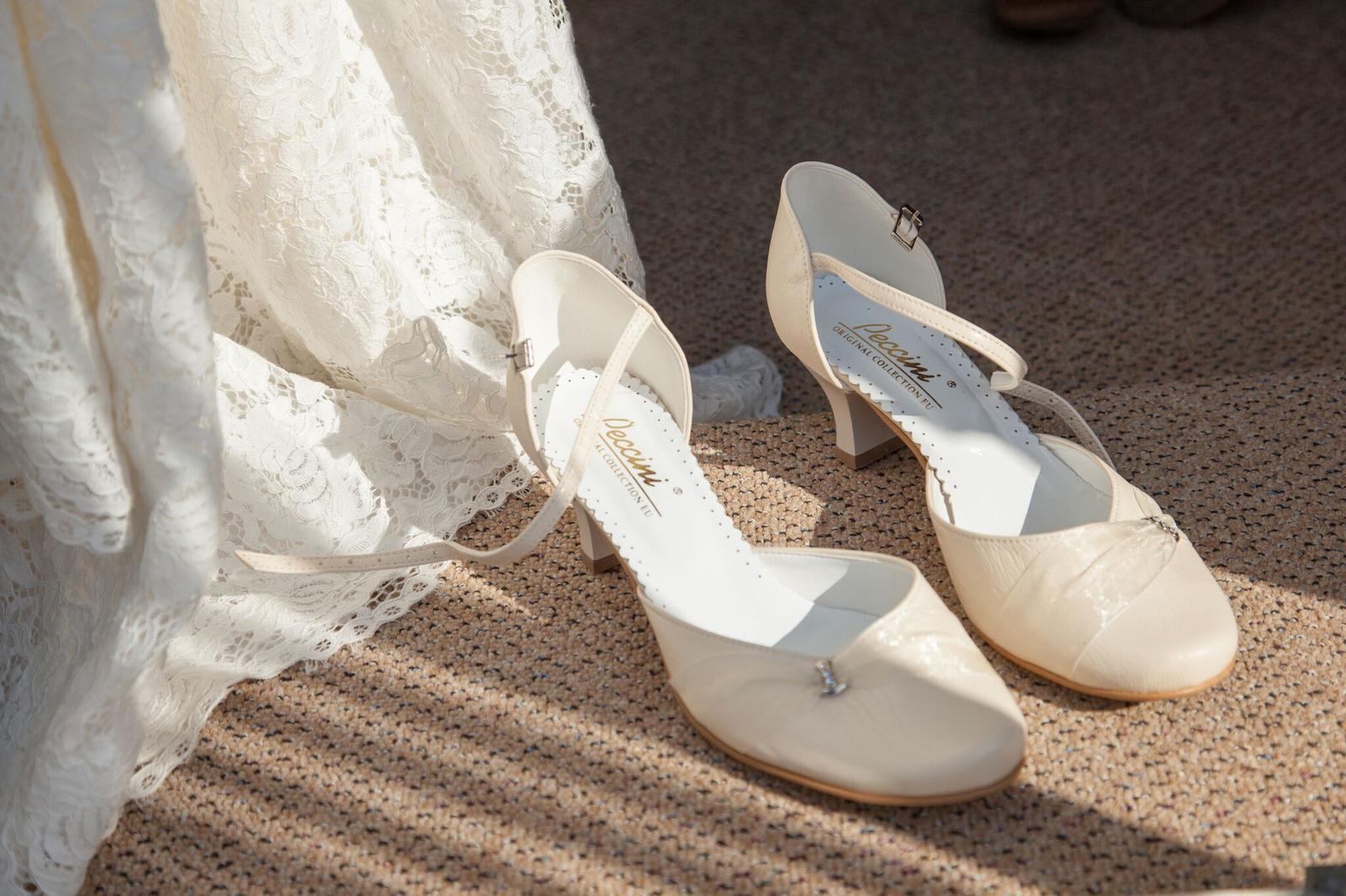 7542370e1cb Peccini dámská ivory svatební obuv
