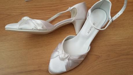 Snehobiele svadobné topánky Growikar, 36