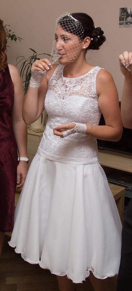 krátké retro svatební šaty ve stylu 50. let, 38