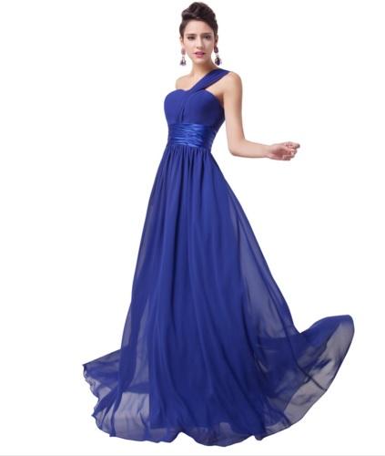 Společenské dlouhé šaty královská modrá rita f16905160c