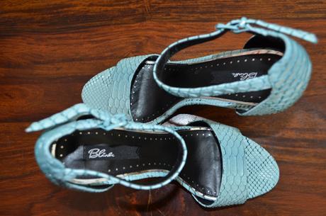 Mintové sandálky Blink, 39
