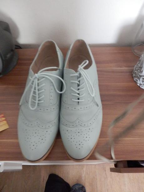 Mentolové kožené boty, vel. 45, 45