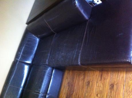 Rohova sedacia suprava roztahovacia+ kreslo.,