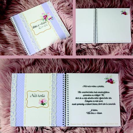 Kniha hostí - personalizovaná,