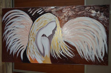 malovany obraz 140x 70cm,