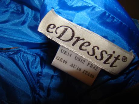 spolocenske saty edressit, 40