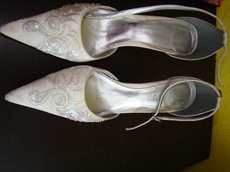 svadobne,spolocenske topanky +kabelka ,MENBUR, 39