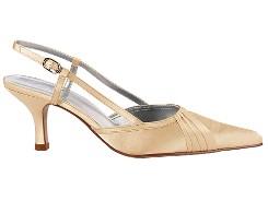 Saténové sandálky Kit - nenosené, 37