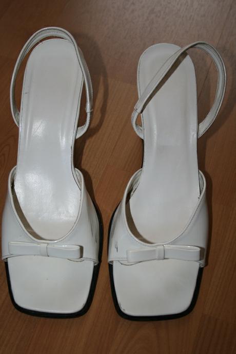 Biele sandále, 39