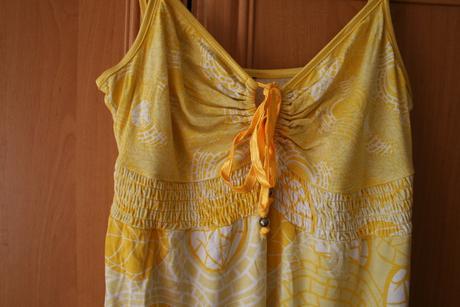 Šaty žlté, L