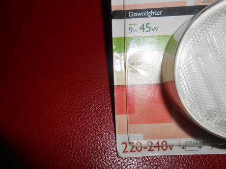 Philips Downlighter ES 9W  biela GX53 ,