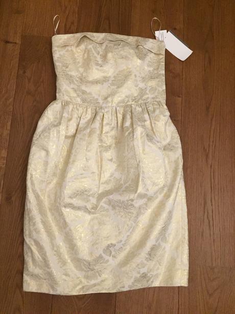 Zlatisté šaty S, S