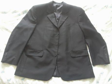 oblek - sako, vesta, nohavice, 60
