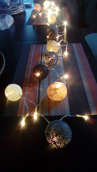 Dekorativní osvětlení kouličky ,