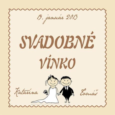 Samolepiace etikety na víno a alkohol,