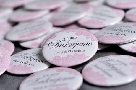 Svadobné buttony,