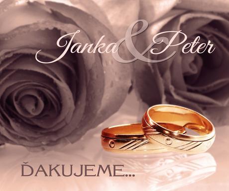 Svadobné magnetky,
