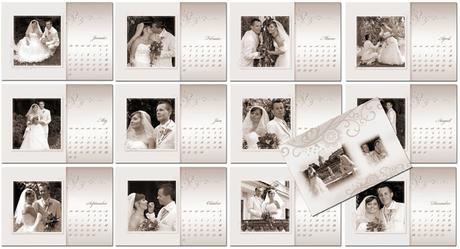 Svadobný kalendár.,