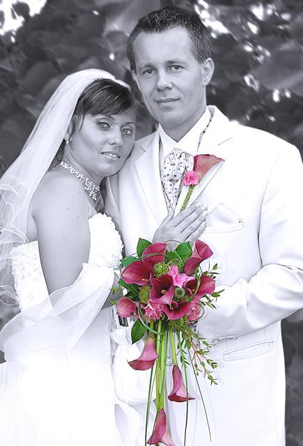 Úprava a tlač svadobných fotografií,