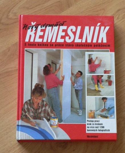 kniha domácí řemeslník,
