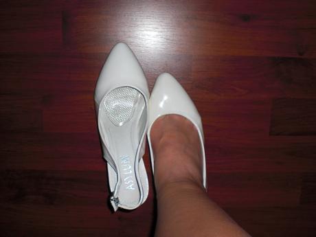 Lakové svadobné topánky, 38