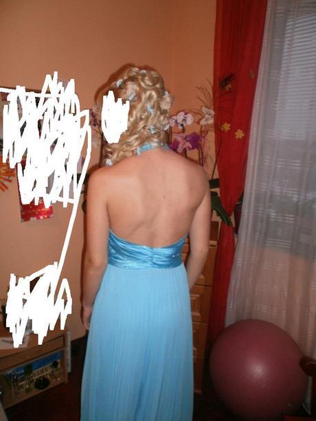 Plesové šatky + kvetinky do vlasov , L